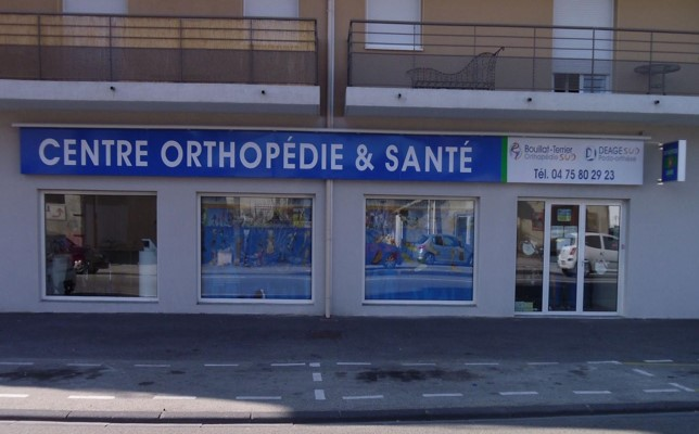 Bouillat Terrier Orthopédie Valence Façade